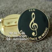 音乐剧团徽章LOGO商标胸针图片