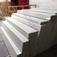 重庆300面铝条扣生产厂商|加油站包柱圆角型材|防风扣板厂家直销
