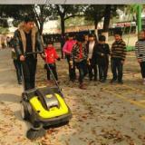 供应开天电瓶式清扫车KT-SO401特价开天手推式扫地机工业吸尘电动扫地机