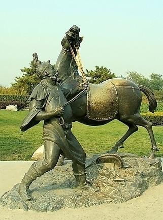 供应河南动物铜雕铸造厂,城市户外景观雕塑价格
