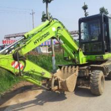供应二手轮胎式挖掘机