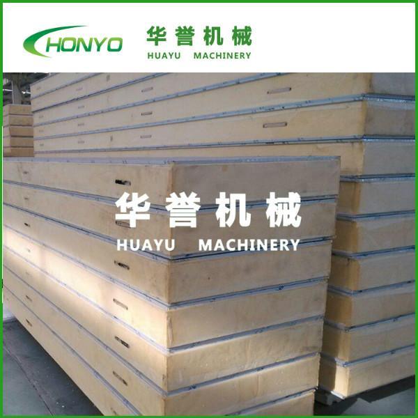供应聚氨酯保温板,山东华誉机械