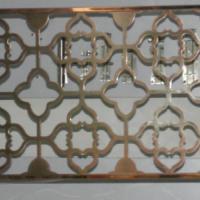 供应新款时尚不锈钢工艺精美装饰屏风