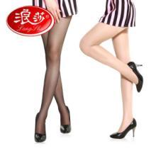 供应浪莎丝袜超薄连裤袜防勾丝隐形丝袜子女薄女袜三件包邮图片
