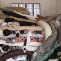 供应库存面料回收上海回收服装回收拉链上海顶顺服装回收公司
