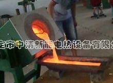 供应铁艺厂专用小型熔化炉厂家图片