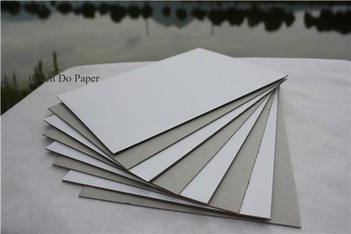 供应高档白板纸 双面复合白卡纸板