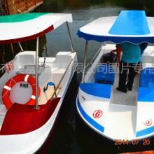 供应2015新款6人豪华电动船价格、游船价格、电动船价格、公园电瓶船