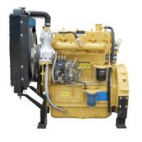 供应70马力ZH4100ZC船用发动机 带海淡水交换器海水泵 带动力输出皮带盘
