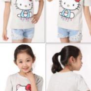 广州低价童装T恤最便宜批发图片