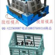 浙江注射模具组合塑胶箱子模具图片