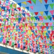 珠海广告丝印旗帜图片
