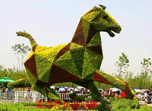 供应12生肖造型绿雕,园林绿雕公园,高仿真雕塑厂家定制,仿真植物供应