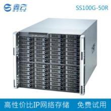 供应IP网络存储鑫云50盘位  磁盘阵列 IPSAN NAS ISCSI  SS100G-50R