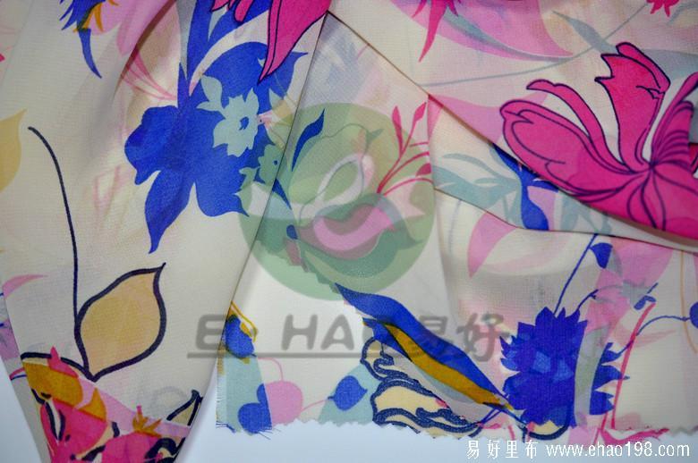 100D雪纺印花图片/100D雪纺印花样板图 (2)
