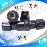 RJ45单头双头带屏蔽网络防水连接器图片