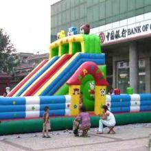 供应充气跳床中大型儿童弹跳蹦蹦床室外大型充气玩具厂家图片