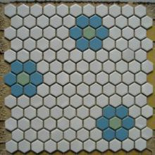 供应六角形马赛克六角砖 背景墙砖