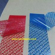 专业生产VOID防伪材料不干胶材料图片