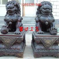 供应大型铜狮子,铸铜大狮子,青铜大狮子雕塑