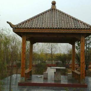新疆巴劳木凉亭供应商图片