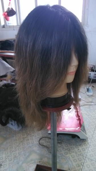 供应湖北真人发假发头套发块,真人发假发头套发块供应商