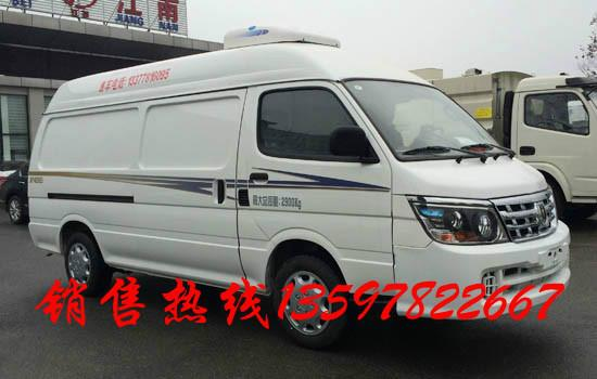 福田面包型冷藏车:   采用北汽福田汽车股份有限公司生产高清图片