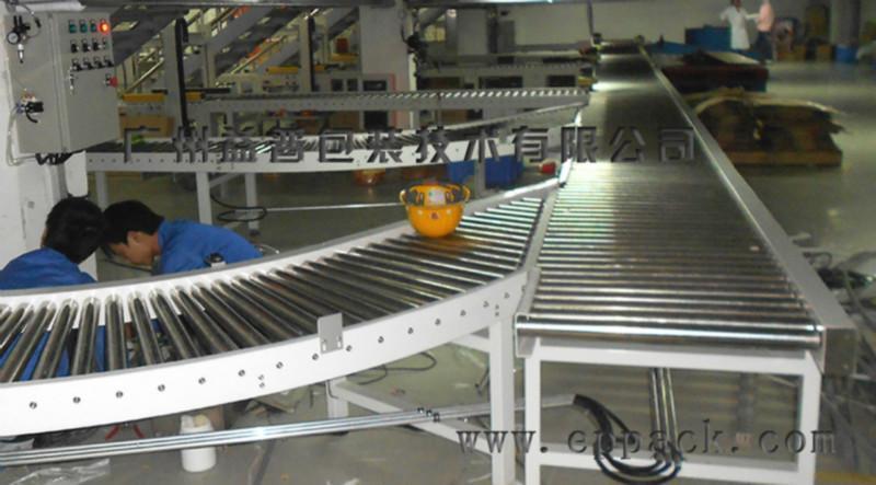 供应益普EPGTX-TG型碳钢支架动力滚筒输送机