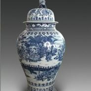 景德镇陶瓷花瓶图片