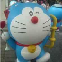 供应机器猫哆啦A梦卡通小黄人模型出租价格,各种玩具模型批发图片