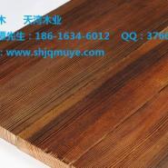优质表面碳化木防腐木生产厂家图片