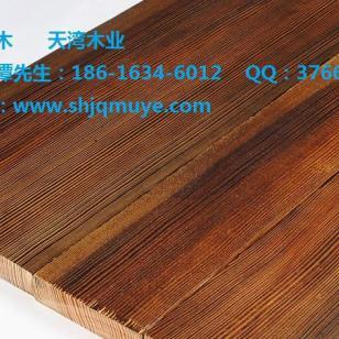 重庆表面碳化木扣板图片