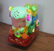 运城新款喜羊羊带闪灯投币摇摇车图片