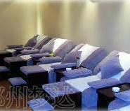 郑州电动手动足疗沙发床椅子桑拿床图片