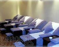 供应郑州电动手动足疗沙发床椅子桑拿床按摩躺椅美容床美甲沙发椅足浴沙发