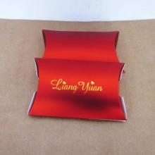 供应红色喜庆枕头盒 高档枕头盒