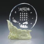 水晶陶瓷奖杯厂家图片