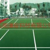 云南昆明网球场施工