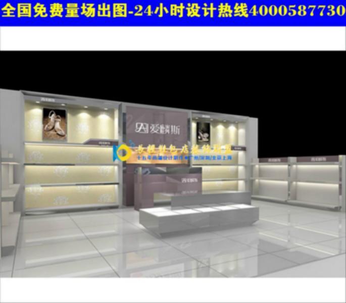 供应鞋包专卖店装修效果图展示货柜an14鞋包专卖店装修设计cn38