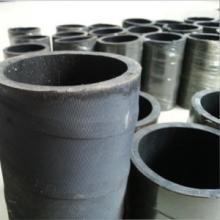 供应编织纤维缠绕夹布喷砂胶管可定做厂家直销硅橡胶管子