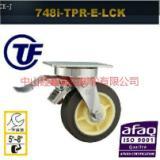 供应TF超重型不锈钢超级人造胶刹车脚轮-林州不锈钢脚轮生产厂家-亚鑫脚轮