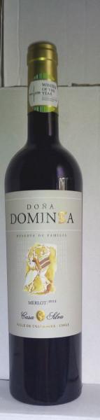 供应多明戈珍酿梅洛红葡萄酒智利原装进口红酒