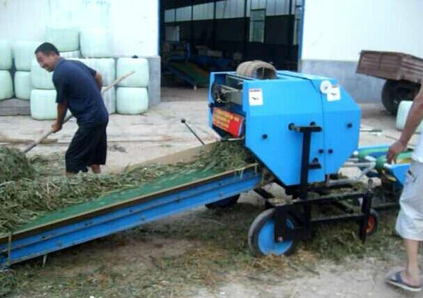 供应青储机青贮机青贮打捆机 新款新型全自动玉米秸秆青储打捆机
