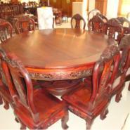 红木餐桌古典家具接受定制图片