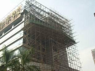 供应大型钢结构广告牌LED钢架设计安装
