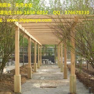 合肥南方松防腐木制作商图片