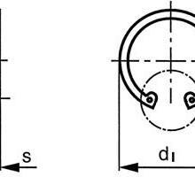 供应进口孔用挡圈,DIN472