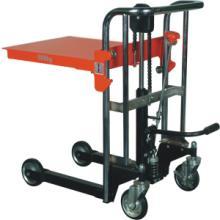 供应诺力手动行李推车模具车堆高叉车图片