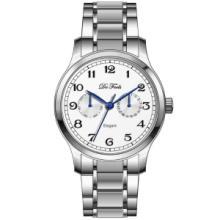 供应DeFeels手表官方正品钢带休闲男表