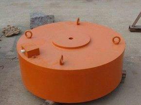 砖机专用悬挂式除铁器图片